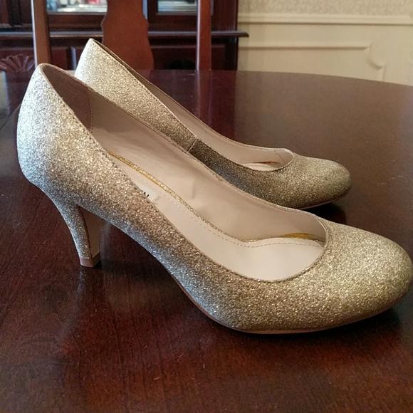 Steve Madden Shoes | Dsw Sparkly Gold
